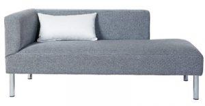 Meridienne Patricia - à partir de 800,00 € - Haut. 73 cm Profondeur 69 cm Larg. 143 cm - haut. assise 42 cm - + x mètres de tissu