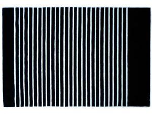 Tapis Ancre Noir et Ecru - 2 200 € - 200 x 300 cm - laine 100%